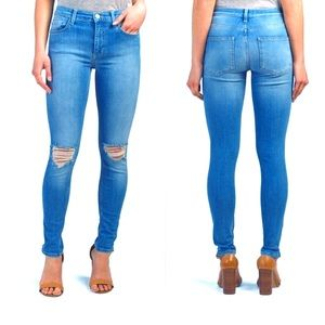 French Connection High Waisted Rebound Skinny Jean